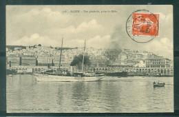 N°158 -  Alger - Vue Générale Prise Du Môle    ( Abimée Sur Un Bord ) Eah85 - Alger