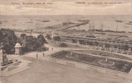 Odessa. Le Boulevard, Vue De La Mer - Ucrania