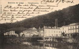 BELGIQUE - LIEGE - CHAUDFONTAINE - Le Pont. - Chaudfontaine