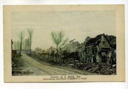 CPA  02  :  VAUX   Rue Et Pont  A   VOIR  !!!! - Sonstige Gemeinden