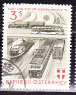 Österreich Austria Autriche - Verkehrsminister/Transport Minister/Le Ministre Des Transports 1961 Gest. Used Obl. - Europäischer Gedanke