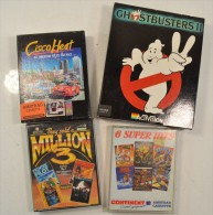Lot Jeux En Cassette Pour Amstrad Ghostbusters 2 Rambo Fighter Pilot Kung-fu Master Cisco Heat Madballs Renegade Gryzor - Commodore