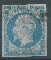 Lot N°26784    N°14A Bleu Ciel, Oblit, Bonnes Marges - 1853-1860 Napoleone III