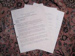 T3 / Discours Original Du Baron Empain 27-03-1963 Inauguration Usine Verlica De Ghlin - Momignies - Historical Documents