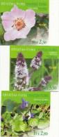 Croatie Mi.nr:687-689 Heilpflanzen 3 Heftchen 2004  Neuf Sans Charniére / MNH / Postfris - Kroatië