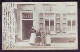 Photo Carte - COUILLET - Café - 1905 - CPA   // - Charleroi