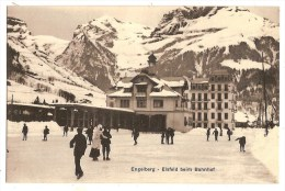 SWITZERLAND Engelberg - Eisfeld Beim Bahnhof - OW Obwald