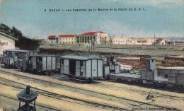 DAKAR - Les Casernes De La Marine Et Le Depot Du D.S.L. - Senegal