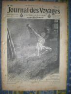 LE JOURNAL DES VOYAGES 30/01/1910 CANADA TRAPPEUR CHASSE THIMGAD NUMIDIE CHINE PASSION JEU