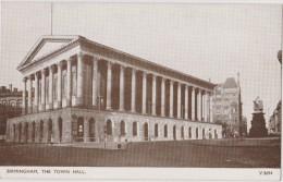 ROYAUME UNI,ANGLETERRE,england,WA RWICKSHIRE,BIRMINGHAM EN 1930,TOWN HALL - Birmingham