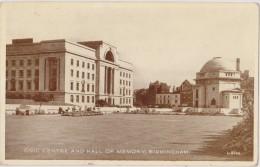 ROYAUME UNI,ANGLETERRE,england,WA RWICKSHIRE,BIRMINGHAM EN 1920,MEMORY - Birmingham