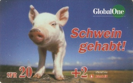*SVIZZERA: GLOBAL ONE* - Scheda Usata - Svizzera
