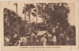 Asie,BIRMANIE,UNION DU MYANMAR,BASSEIN,NORMALIEN NES,école Horticulture,édition  Soeurs De St Joseph De L´apparition,rar - Myanmar (Birma)