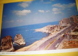 Calendrier Liban Avant La Guerre Periode Avant T970  Place Rawche - Klein Formaat: 1961-70