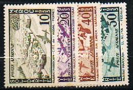 Maroc, N° YT. PA. 94/97 Neufs ** - Nuevos