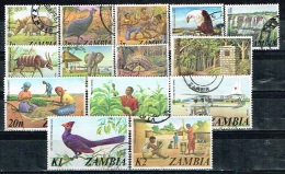 ZAMBIE /Oblitérés/Used /1975 - Sujets Divers (Série Complète) - Zambia (1965-...)