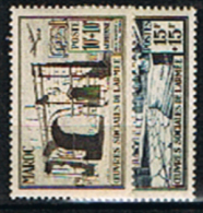 Maroc, N° YT. PA. 79/80 Neufs **. - Aéreo
