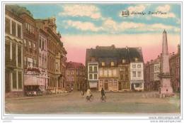 MALMEDY ..-- Grand´ Place . Vers LA TREMBLAY ( Mr Mme O. FLORANCE ) . Voir Verso . - Malmedy