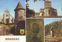 Brageac   H50           4 Vues Dont Fontaine De Saint Til - Non Classés