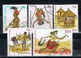 ZAMBIE /Oblitérés/Used/1981 - Artisanat / Sujets Divers - Zambia (1965-...)