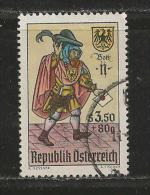 AUSTRIA, 1967, Cancelled Stamp(s), The Letter Carrier, MI Nr. 1255, #4070 - 1945-.... 2nd Republic