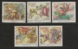 AUSTRIA, 1968, Cancelled Stamp(s), Melk Monestry , MI Nr. 1278-1283, #4075 - 1945-.... 2nd Republic