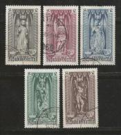 AUSTRIA, 1969, Cancelled Stamp(s), Madonna & Child , MI Nr. 1284=1289, #4076  5 Values Only - 1945-.... 2nd Republic