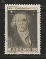 AUSTRIA, 1970, Cancelled Stamp(s), Beethoven, MI Nr. 1352, #4088, - 1945-.... 2nd Republic