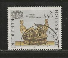 AUSTRIA, 1971, Cancelled Stamp(s), Austrian Art, MI Nr. 1357, #4090,  1 Value Only - 1945-.... 2nd Republic
