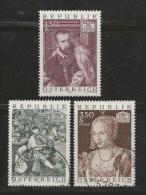 AUSTRIA, 1971, Cancelled Stamp(s), Austrian Art, MI Nr. 1360-1362, #4091,  Complete - 1945-.... 2nd Republic