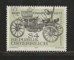 AUSTRIA, 1971, Cancelled Stamp(s), Marcus Veteran Car, MI Nr. 1371, #4092, - 1971-80 Covers