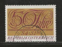 AUSTRIA, 1971, Cancelled Stamp(s), 50 Years Austria, MI Nr. 1380, #4095, - 1945-.... 2nd Republic