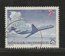 AUSTRIA, 1973, Cancelled Stamp(s), Douglas DC-9, MI Nr. 1413 #4101, - 1945-.... 2nd Republic
