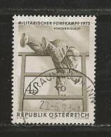 AUSTRIA, 1973, Cancelled Stamp(s), Military Sports, MI Nr. 1418 #4104, - 1945-.... 2nd Republic