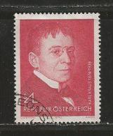 AUSTRIA, 1974, Cancelled Stamp(s), Karl Kraus, MI Nr. 1448 #4110, - 1945-.... 2nd Republic