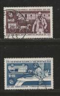 AUSTRIA, 1974, Cancelled Stamp(s), U.P.U., MI Nr. 1466-1467 #4111, - 1971-80 Covers