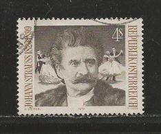 AUSTRIA, 1975, Cancelled Stamp(s), Strauss, MI Nr. 1495, #4115, - 1945-.... 2nd Republic
