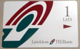 Latvia Alcatel COMPLIMENTARY Card: Printrun 1000 But RR!! - Latvia