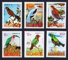 Mozambique Birds 6v2 3rd issue SG#1151-56 SC#1017-22