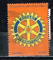 ZAMBIE /Oblitérés/Used /2003 - 50 Ans Du Rotary Club International En Zambie - Zambie (1965-...)