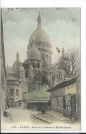 Paris (75) CPA Colorisée Rue De La Barre à Montmartre (403) - Zonder Classificatie