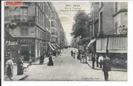 Paris (75) Très Rare CPA La Rue De Vaugirard (vue Prise De La Rue Madame) (Edit: Gondry) Etablissement Cadiou - France