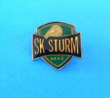 SK STURM Graz - football club ( Austria ) pin badge soccer fussball futbol calcio futebol foot anstecknadel distintivo