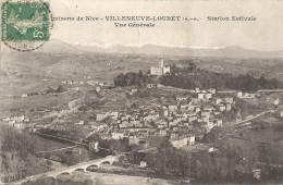 VILLENEUVE LOUBET - 06 - Station Estivale - Vue Générale - Lègère Pliure - VAN - - Autres Communes