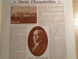 1923 HA�TI L'ENSOLEILL� / LA TOURAINE ET LA LOIRE / LE CORT�GE DES BIJOUX � ANVERS / POUCHKINE