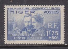 Niger: 1938 International Anti Cancer Fund, MH * - Niger (1921-1944)