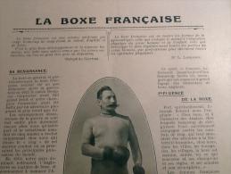 1923 LA BOXE FRAN�AISE CHARLEMONT / Emmanuel KANT / Robert DE MONTESQUIOU FEZENSAC / POISSONS MONSTRUEUX