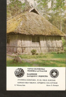 Soviet Latvia LSSR USSR 1983 Memorial Folk Building Architecture Monument - Fisherman Cabin 18th Century Kurzeme - Calendars