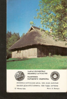 Soviet Latvia LSSR USSR 1983 Memorial Folk Building Architecture Monument Rustic Farmers House 1820s Kurzeme - Calendars