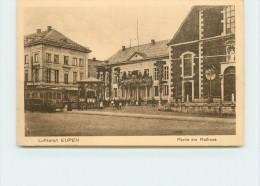 EUPEN  -Luftkurort, Partie Am Rathaus. - Eupen